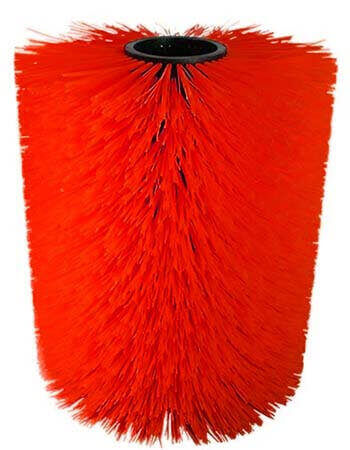 """""""Cow brush Cylinder shape red"""""""