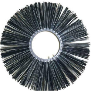 """""""PP and steel wire wafer road round sweeper brush for road cleaning"""""""