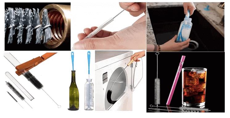 """""""tube bottle brush application"""""""