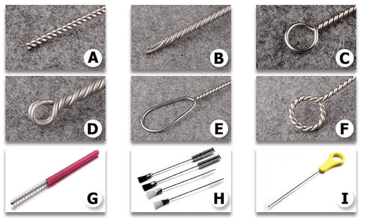 """""""Stainless steel handle nylon tube brush"""""""