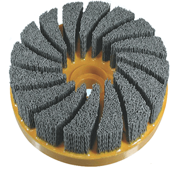 """Deburring Polishing Cleaning Industrial Abrasive Disc Brush"""