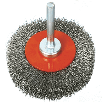 """""""Knot Wire Wheel Brush with Nut"""""""
