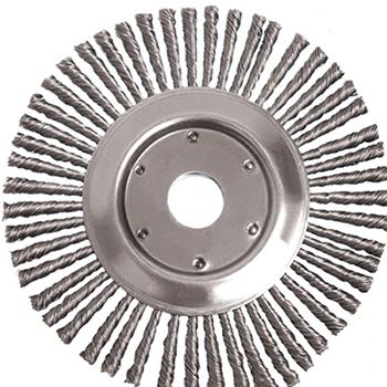 """Industrial Stringer Bead Twist Knot Wire Wheel Brush"""